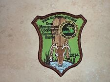 2014 MICHIGAN SUCCESSFUL DEER HUNTER PATCH BEAR TURKEY MINT
