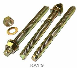 CHEMICAL RESIN ANCHOR FIXING STUDS THREADED ROD/NUTS/WASHERS M8,M10,M12,M16,M20