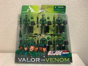 Hasbro G.I. JOE VALOR VS VENOM INFANTRY DIVISION 6 Pack