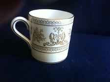 Wedgwood Gold Columbia small coffee can (v.minor rim gilt wear)