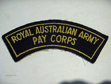 INSIGNE BADGE AUSTRALIE ROYAL AUSTRALIAN ARMY PAY CORPS