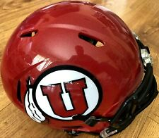 Utah Utes full size Riddell Speed replica red college football helmet BRAND NEW