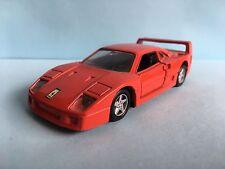 Diecast Maisto Ferrari F40 Red 1/39 Scale Good Condition