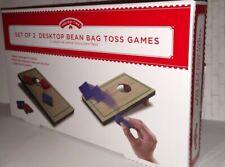 Desktop Bean Bag Toss Game Corn Hole