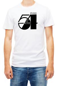 Studio 54 Broadway NYC Theatre T-shirt Short Sleeve Fashion For Men's K067