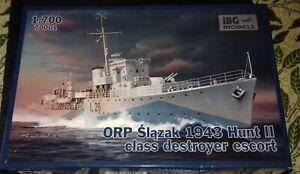 IBG 1/700 scale Orp Slajak Hunt type II Detroyer Escort