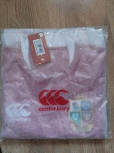 2020/2021 British & Irish Lions Players Rugby Shirt - New With Tags - Size L