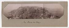 PHOTO ANCIENNE La pointe du Raz Vers 1900 Bretagne Panoramique Vintage