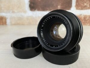 [Exc4] Leica Leitz Wetzlar SUMMICRON R 50mm f/2 MF 1Cam Lens From JAPAN #508