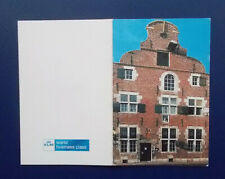 Picture / Information CARD re KLM 84 Delft House. (NB: No KLM house is included)