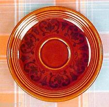 Vintage Fiesta / Sheffield Amberstone Brown Tea Cup Saucer