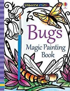 Magic Painting Bugs (Usborne Minis) by Fiona Watt, NEW Book, FREE & FAST Deliver
