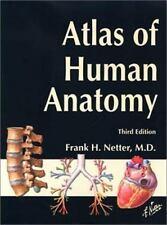 *New*Atlas of Human Anatomy Third Edition  Frank H. Netter M.D. Paperback