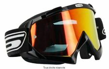 SLINE GAFAS ENMASCARAR PANEL CASCO CRUZ MOTO IRIDIO NEGRO ENDURO