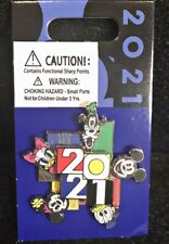 Disney Parks 2021 Pin Spinner Mickey Donald Minnie Goofy Daisy - NEW