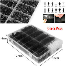 700Pcs 12 Sizes Panel Nylon Clip Retainer Fastener Car Bumper Door Trim w/Box