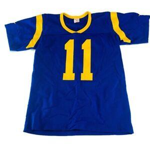 Los Angeles Rams Mens Mesh Football Jersey Rawlings Vintage Size Small Blue #11