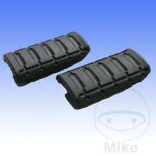 For Honda NT 650 V Deauville 2001 Tourmax Footrest / Footpeg Rubbers (Pair)