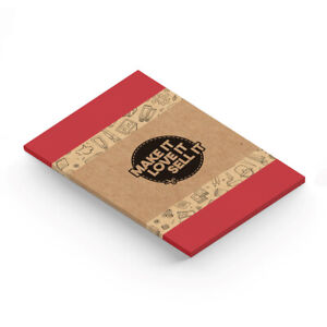 A4 Red 225gsm Card - Useful For Card Making, Printing. UK Supplier