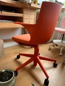 KARTELL Spoon Office Chair in orange, Space Furniture rrp $1,255