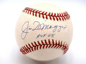 JOE DIMAGGIO HOF 55 SIGNED PSA/DNA CERTIFIED RAWLINGS BASEBALL AUTOGRAPHED