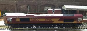Bachmann 32-725DS Class 66 EWS LAFARGE CHARWOOD Sound Locomotive OO