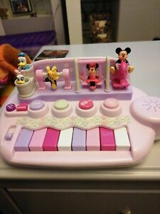 Rare Kiddieland Disney Mickey Mouse & Friends Musical Piano - working