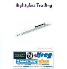 5 X Reciprocating Saw Blades 6 TPI 150MM taglio legno 598431