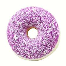 1pc Jumbo Donut Squishy Cute Simulation Squeeze Toy Stress Relief Toy Purple
