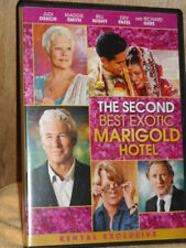 The Second Best Exotic Marigold Hotel (DVD, 2015) Judi Dench Maggie Smith