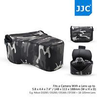 JJC 18*14*11cm Neoprene Camera Bag Case Pouch for Canon Nikon Panasonic SLR/DSLR