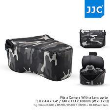 JJC Waterproof Camouflage Neoprene Compact Camera Case Protector for Canon Nikon