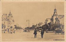 * ROMANIA - Bucuresti Bucarest - Bulevardul Coltea 1910 Photopostcard