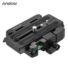 Tripod Quick Release Clamp Plate for Manfrotto 501 500AH 701HDV 503HDV Q5 1 Y5Y0