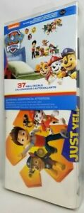 Paw Patrol 37 Wall Decals Stickers Reusable Peel & Stick New Free Shipping
