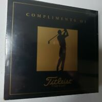 Tiger Woods Rookie Card - Champions of Golf Masters Collection Titleist Cards RC