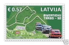 2016 Latvia Lettland Lettonie Bikernieki Auto ,Moto track  50 y  Sport Cars MNH