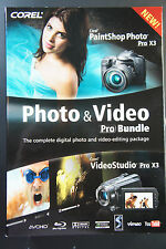 Corel Photo & Video Pro Bundle (PaintShop Photo + VGideoStudio Pro x3)