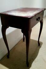 Old Mahogany Imitation Side Antique table