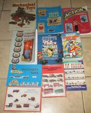 Lot 10 TOY Collectors Collectible Books Soldiers Paper Doll Matchbox Mechanical