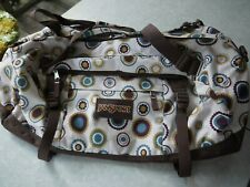 JAN SPORT X-LARGE Brown-Multi-Color Duffle Bag