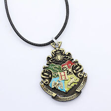Harry Potter Hogwarts School of Witchcraft and Wizardry Necklace Keychain Bronze
