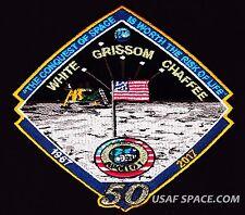 APOLLO -1 - 50th  ANNIVERSARY -WHITE GRISSOM CHAFFEE- Tim Gagnon SPACE PATCH