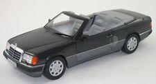 NOREV MERCEDES BENZ W124 300CE Cabriolet E Klasse Black Dealer 1:18 Rare!