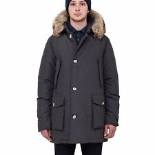 NEW-WOOLRICH-JOHN-RICH-BROS-ARCTIC-PARKA-DF-BLACK-XL-X-LARGE $1070 LIST PRICE
