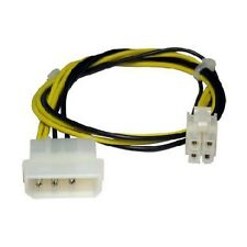 MOLEX TO P4/64 BIT POWER 4 PIN SQUARE INTERNAL PC POWER CABLE / UK SELLER