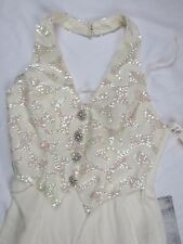 Faviana New York  Prom Formal Size 7/8 Dress SEQUINS Women's