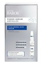 DOCTOR BABOR POWER SERUM Hyaluronic Acid Serum, set of 7 .06 oz/each. NIB.