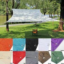Outdoor Patio Shade Sails Suncreen Awning Garden Sun Canopy Waterproof
