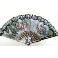3X(Spanish style Hand Fan Decorative Design X1A1)